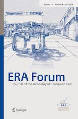 "Zum Artikel ""Neue Publikation: Prof. Dr. Jochen Hoffmann – Implementation of the Payment Accounts Directive (PAD), ERA Forum Journal of the Academy of European Law, June 2019"""